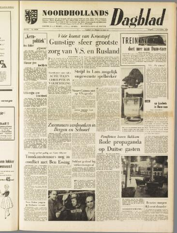 Noordhollands Dagblad : dagblad voor Alkmaar en omgeving 1959-08-07
