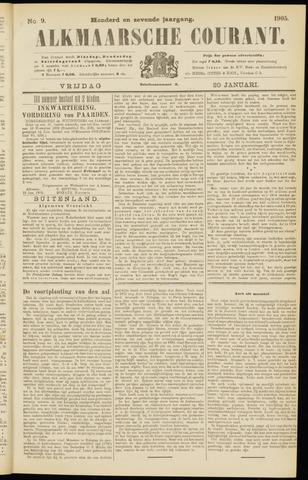 Alkmaarsche Courant 1905-01-20