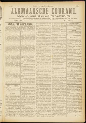 Alkmaarsche Courant 1917-01-18