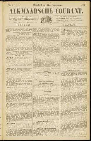 Alkmaarsche Courant 1903-01-11