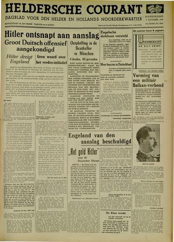 Heldersche Courant 1939-11-09