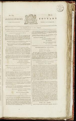 Alkmaarsche Courant 1823-09-08