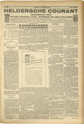 Heldersche Courant 1927-09-10