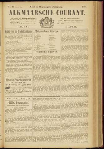 Alkmaarsche Courant 1896-04-17