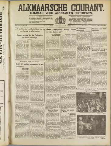 Alkmaarsche Courant 1941-08-09
