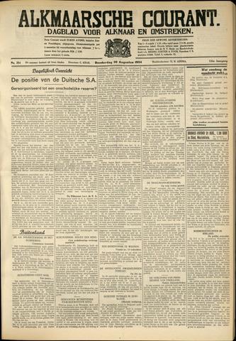 Alkmaarsche Courant 1934-08-30