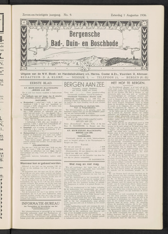 Bergensche bad-, duin- en boschbode 1936-08-01