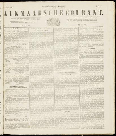 Alkmaarsche Courant 1874-05-31