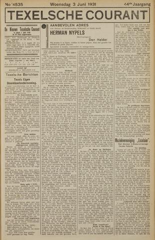 Texelsche Courant 1931-06-03