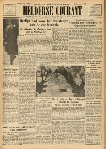 Heldersche Courant 1954-01-25