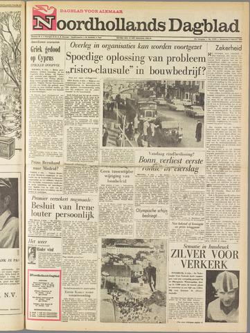 Noordhollands Dagblad : dagblad voor Alkmaar en omgeving 1964-02-06