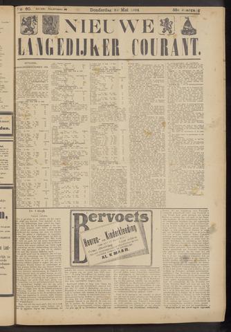 Nieuwe Langedijker Courant 1924-05-22