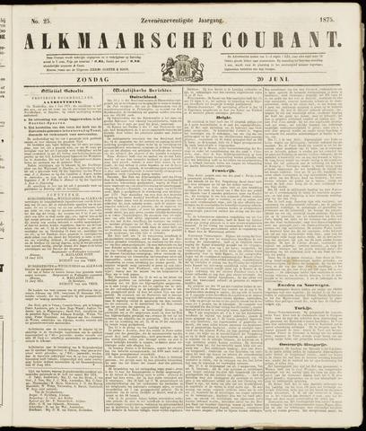Alkmaarsche Courant 1875-06-20