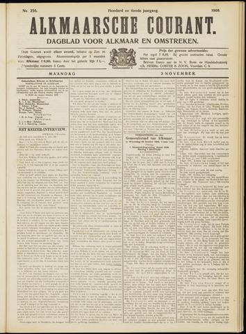Alkmaarsche Courant 1908-11-02