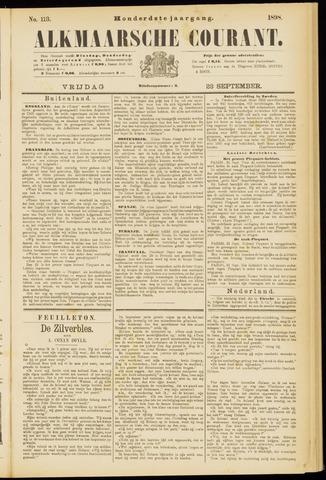 Alkmaarsche Courant 1898-09-23