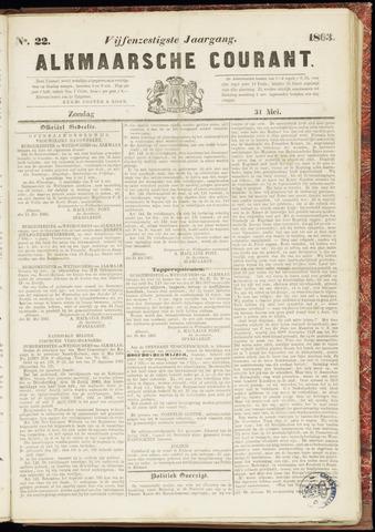 Alkmaarsche Courant 1863-05-31