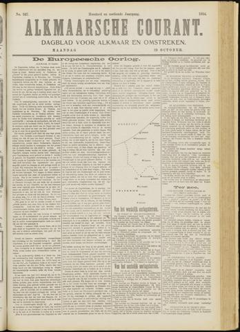 Alkmaarsche Courant 1914-10-19