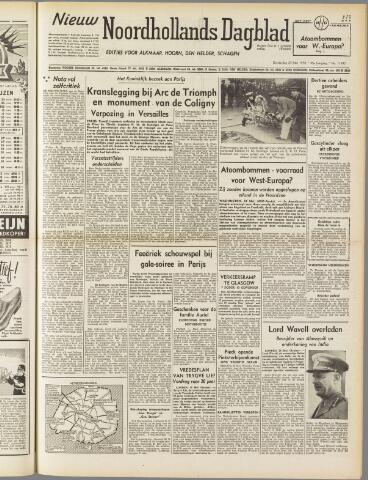 Nieuw Noordhollandsch Dagblad : voor Alkmaar en omgeving 1950-05-25