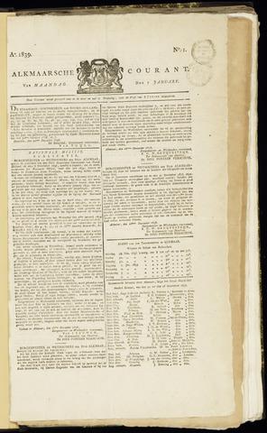 Alkmaarsche Courant 1839-01-07