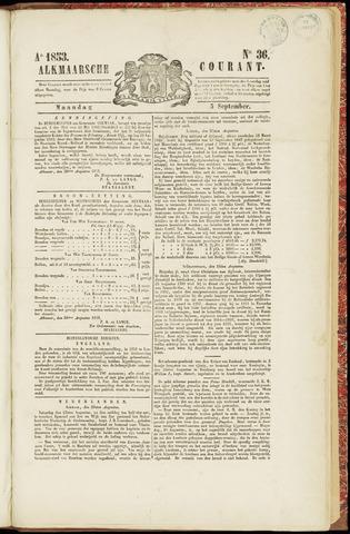 Alkmaarsche Courant 1853-09-05
