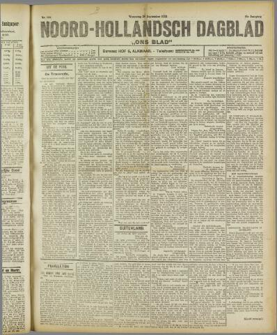 Ons Blad : katholiek nieuwsblad voor N-H 1922-09-20