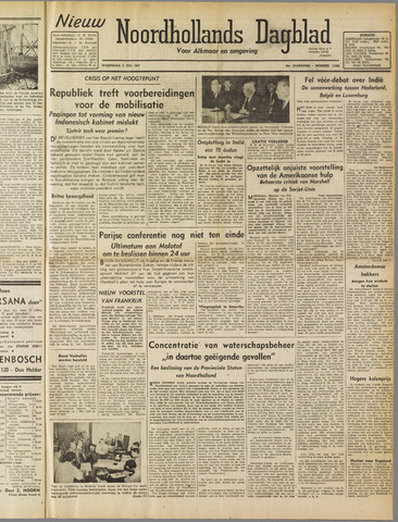 Nieuw Noordhollandsch Dagblad : voor Alkmaar en omgeving 1947-07-02