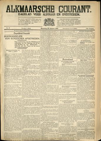 Alkmaarsche Courant 1933-01-30