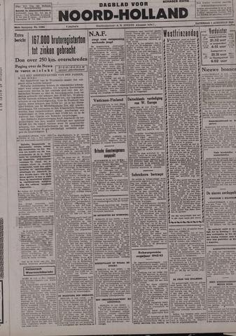 Dagblad Noord-Holland, Schager editie 1942-08-01
