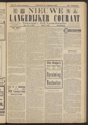 Nieuwe Langedijker Courant 1929-08-17