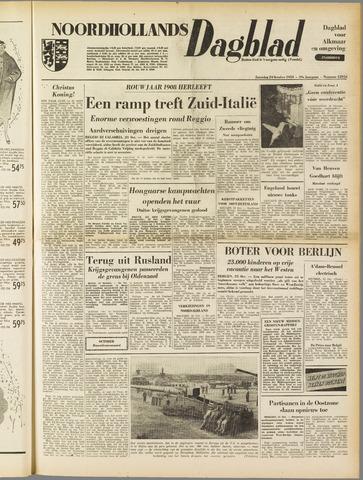 Noordhollands Dagblad : dagblad voor Alkmaar en omgeving 1953-10-24