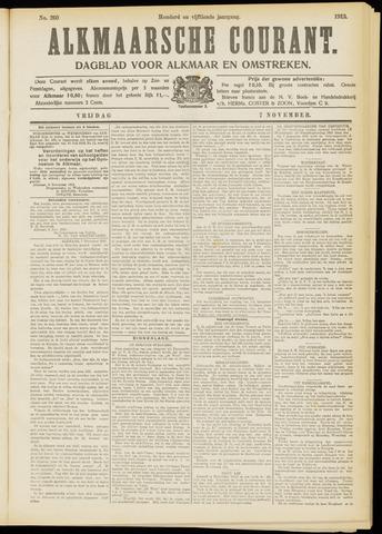 Alkmaarsche Courant 1913-11-07