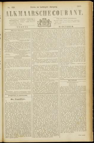 Alkmaarsche Courant 1885-10-16