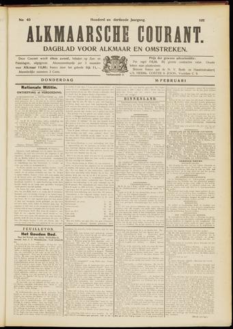 Alkmaarsche Courant 1911-02-16