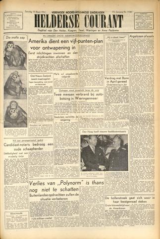 Heldersche Courant 1952-03-15