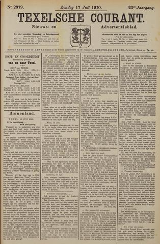 Texelsche Courant 1910-07-17