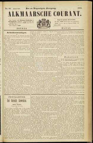 Alkmaarsche Courant 1894-07-22