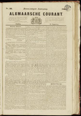 Alkmaarsche Courant 1864-08-14