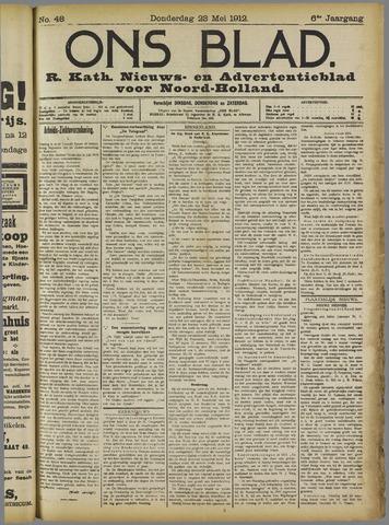 Ons Blad : katholiek nieuwsblad voor N-H 1912-05-23