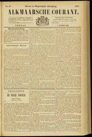 Alkmaarsche Courant 1895-02-01