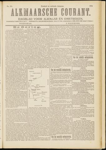 Alkmaarsche Courant 1914-12-09