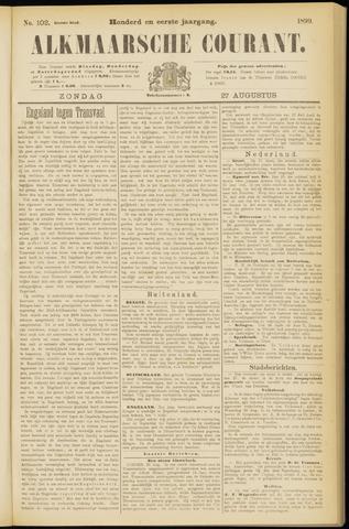 Alkmaarsche Courant 1899-08-27