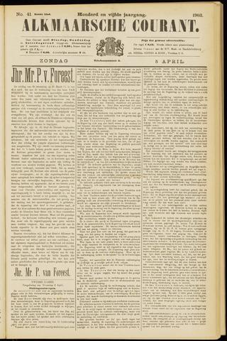 Alkmaarsche Courant 1903-04-05