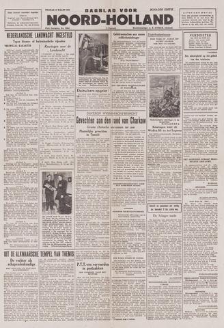 Dagblad Noord-Holland, Schager editie 1943-03-12