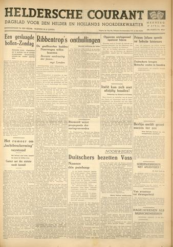Heldersche Courant 1940-04-29