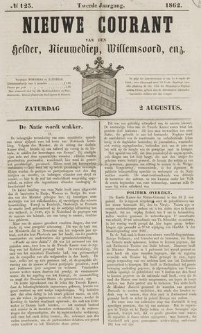 Nieuwe Courant van Den Helder 1862-08-02