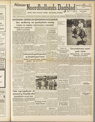 Nieuw Noordhollandsch Dagblad : voor Alkmaar en omgeving 1949-08-08