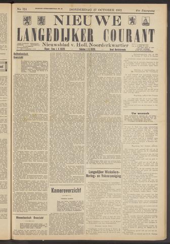 Nieuwe Langedijker Courant 1932-10-27