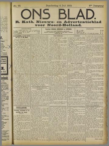 Ons Blad : katholiek nieuwsblad voor N-H 1912-07-04
