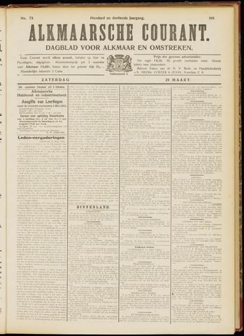 Alkmaarsche Courant 1911-03-25