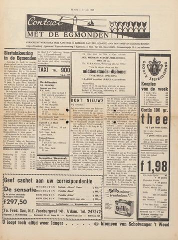 Contact met de Egmonden 1965-07-21